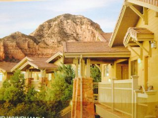Enjoy Red Rock Scenery of 1 or 2 BR Sedona Condo