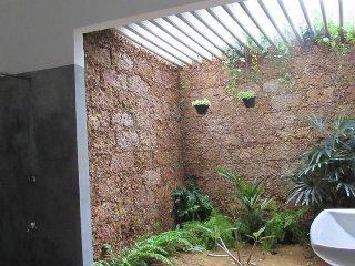 Fully spacious ground floor open bathroom.