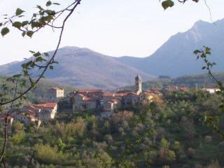 Romantico appartamento collinare Toscana Lunigiana