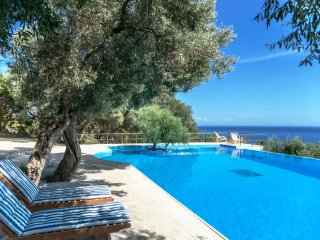 Villa Coin de Paradis - Breathtaking 360° view on Ionian islands, Sivota