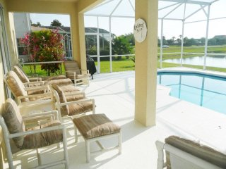 Stunning Lake View Vacation Rental Pool Home, Kissimmee