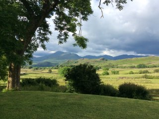 Your view towards Scafell Pike