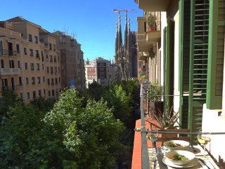 Amazing views of Sagrada Familia!