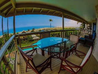 Beautiful 3BR / 3BA home with ocean views & pool - Check out our Virtual Tour, Kailua-Kona