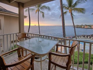 Sea Village 2 BR / 2 BA Oceanview corner unit, Kailua-Kona