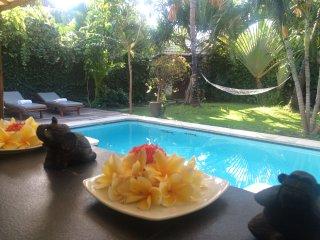 Villa Seminyak 2ch, tropical garden, pool