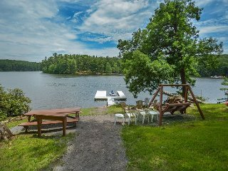 Lake front home with private dock & views!