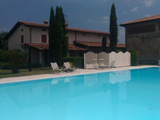 Cascina Maria with garden and pool in Desenzano, Desenzano Del Garda