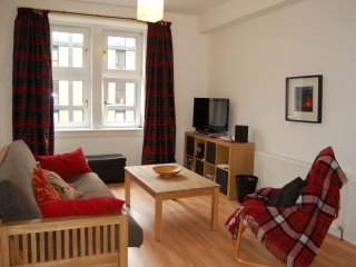 Canal side apartment, Edinburgh