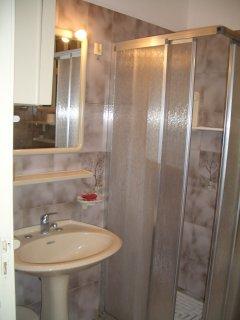 Bagno con doccia e sanitari (piano terra)