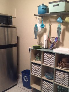 Extra kitchen storage!