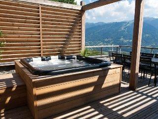 Le Chardon Bleu - Residence Silene SPA, Jacuzzi