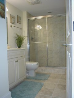 3rd Full Bathroom with large stand up shower
