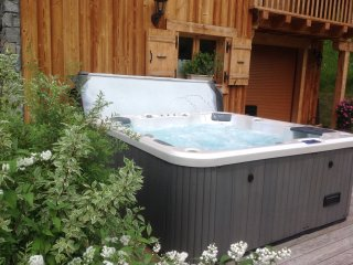 Nouveau Chalet neuf tres grand confort Jacuzzi Samoens Grand-Massif