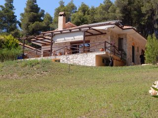 R26 Cozy sea view detached house in Halkidiki, Paliouri