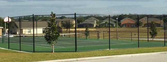Tennis Courts / BasketBall Court