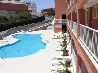 Ocean View, New&Stylish Green Flat on Playa Sotavento, Costa Calma