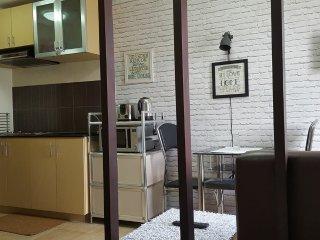 1BR Condo in Wharton Condominium nr SLU Bakakeng, Baguio