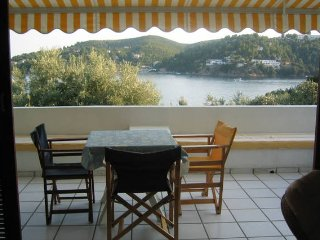Villa on Beach Skiathos Island, Achladias