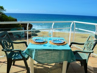 Oceanfront Apt at Sandy Beach, Rincon