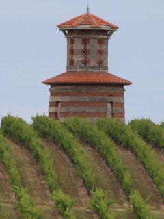 Une des nombreuses tours à découvrir dans les vignobles