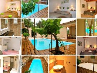Location Maison de vacances avec piscine chauffee