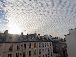 Lumineux Duplex 2 bedrooms Batignolles., París