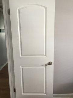 Upgraded doors