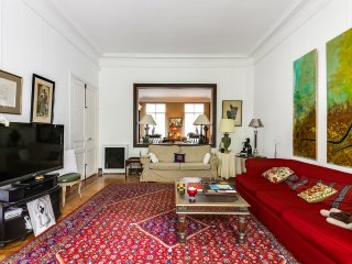 Apartment with a garden in the 16th arrondissement, París
