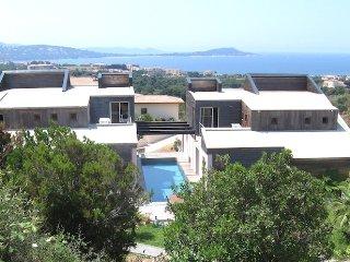 Villa avec piscine et vue mer proche des plages, Porticcio