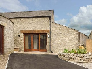 TOWN END BARN, barn conversion, woodburning stove, off road parking, shop and