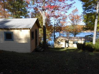 Sunapee area - lakeside cottage trio on Sand Pond