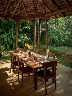 Our Dining room facing the garden