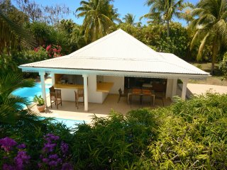Villa Casa Blanca Karukera plage 250m
