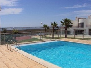 Chilled, family friendly, apartment with pools, sea view. private terrace & bbq