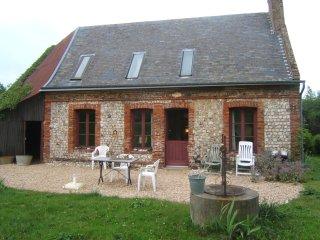 entre Fécamp et Etretat, petite maison grand jardi, Vattetot-sur-Mer