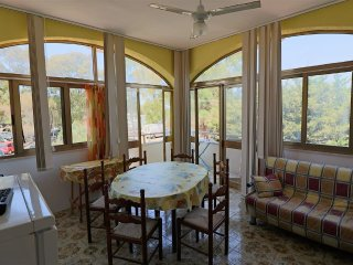 Holiday house on the first floor in villa in Gallipoli Padula Bianca beach front