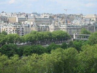 Tour Eiffel-Quai de Grenelle, Belles vues Seine, Paris