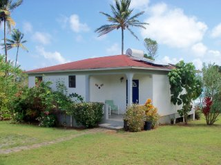 Five self catering sea view cottages in Dominica, Calibishie