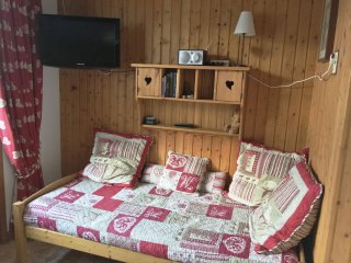 APPARTEMENT FACE AU MT BLANC 3 personnes