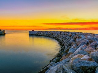 Toscana in riva al mare, Marina di Pisa