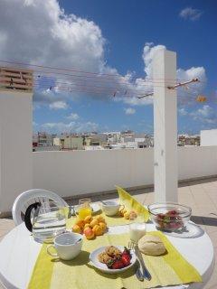 Top common terrace