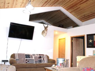 Big Screen TV and Loft for Kids