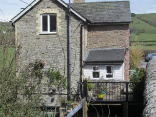 Cottage on the River Lugg, Knighton
