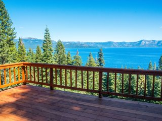Stunning Tahoe Views, Updated Home, Carnelian Bay