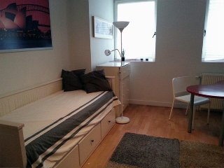 Secluded Apartment Studio, Ixelles–1BD, 1BT
