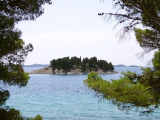 PAKOSTANE (ZADAR), AP FOR 2, SANDY BEACH 400m (A1)