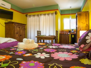 Yellow suite B&B Casa Juarez