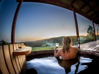 Hundred Acre Hideaway - Hot Tub #1, Lunawanna