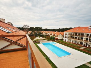 Luxury apartment just few meters from the beach !